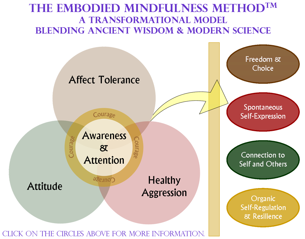 Embodied Mindfulness, a graphic representation